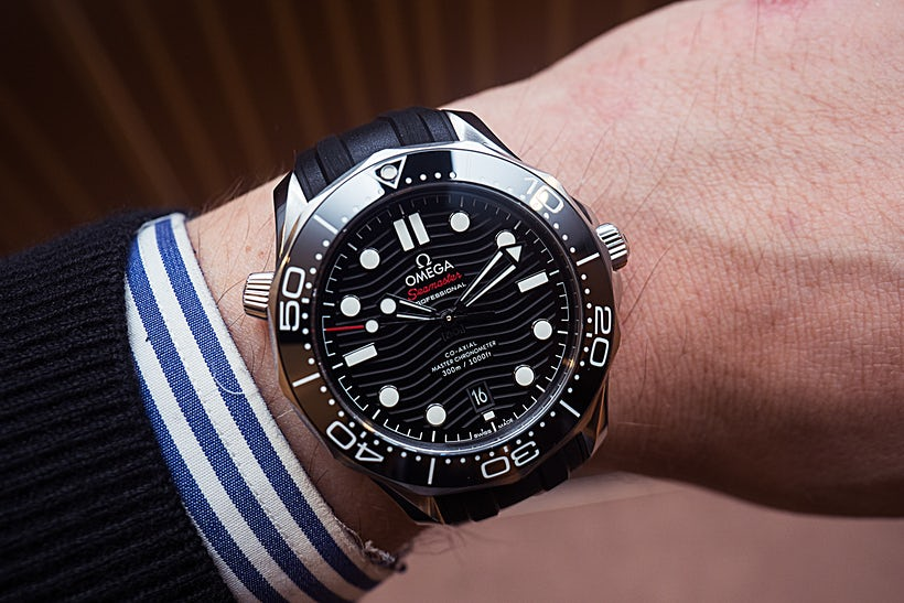Cheap swiss fake omega seamaster 300m watches online luxury omega replica watches shop for Omega diver
