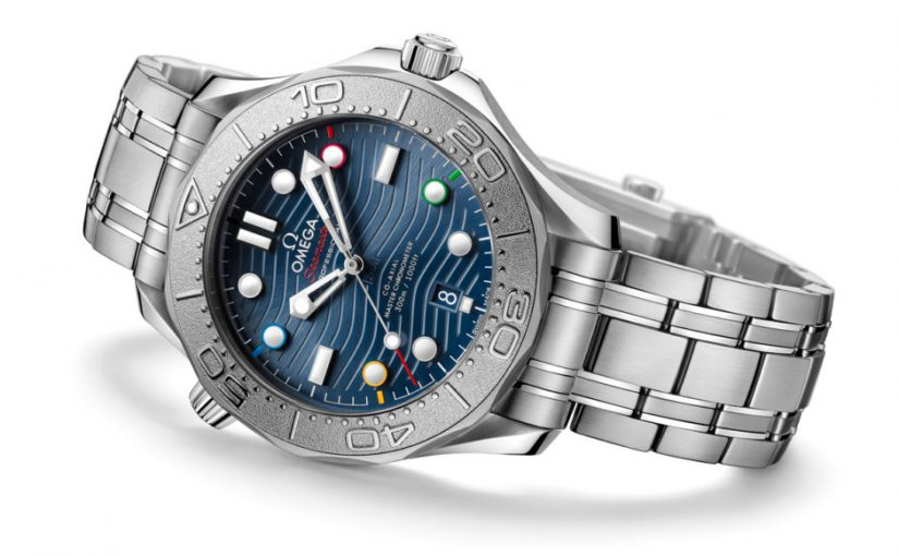 """Hands On:Perfect Omega Seamaster Diver 300M """"Beijing 2022"""" Special Edition Replica Watches"""