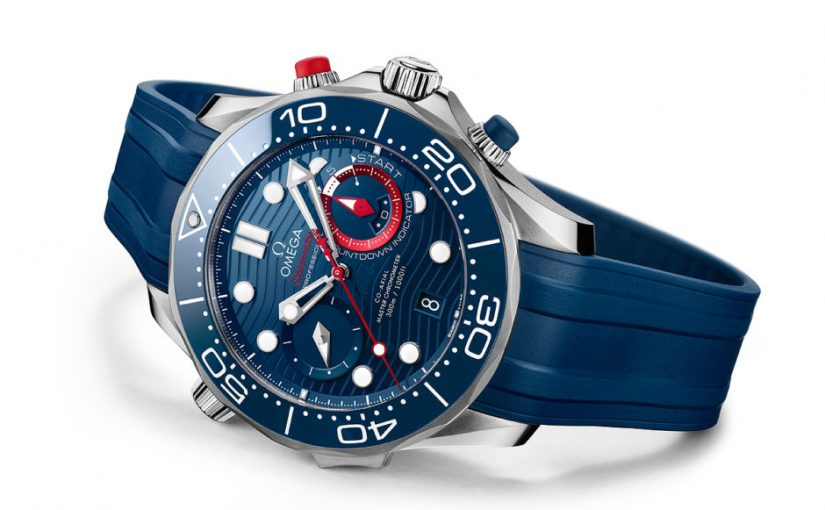 AAA Omega New Seamaster Diver 300M America's Cup Chronograph Replica Watches