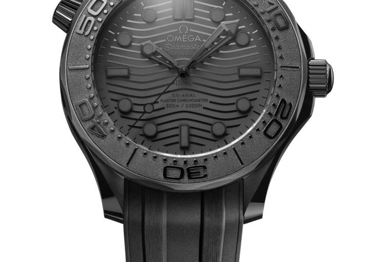 Cheap New Omega Seamaster Diver 300M Black Black Replica Watches