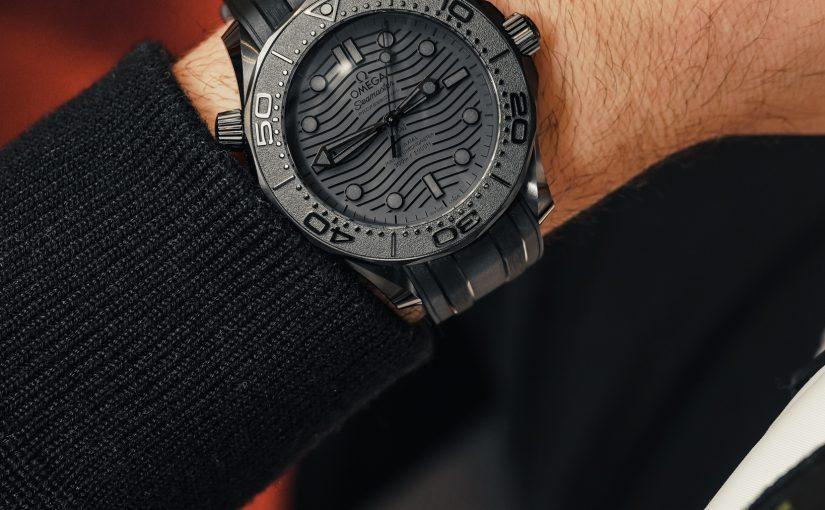 Omega Seamaster Diver 300M Black Ceramic Replica Watches